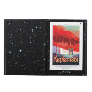 Kepler 186f Where the Grass is Alway Red vacation Cover For iPad Air