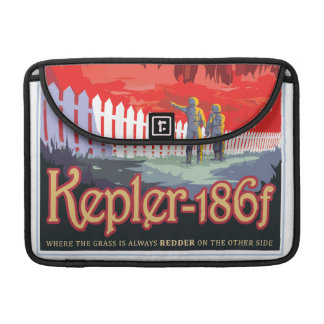 Kepler 186f Where the Grass is Alway Red vacation Sleeve For MacBooks