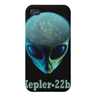 Kepler-22b Alien iPhone Case - Black Cases For iPhone 4