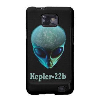 Kepler-22b Alien Samsung Galaxy S Case - Black Samsung Galaxy SII Covers