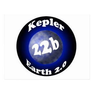 Kepler 22b postcard