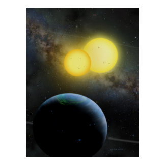 Kepler-35 Posters