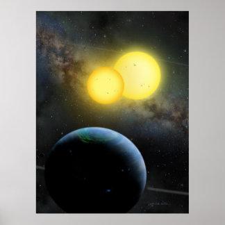Kepler-35 Print
