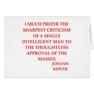 KEPLER CARD