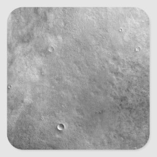 Kepler crater on the surface of Mars Square Stickers