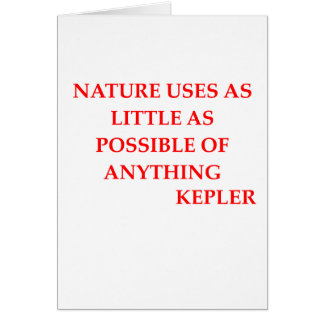 KEPLEr quote Card
