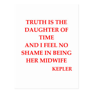 KEPLEr quote Postcard