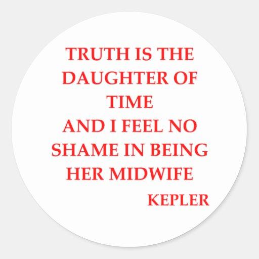 KEPLEr quote Sticker