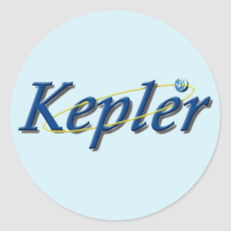 Kepler Space Observatory Classic Round Sticker