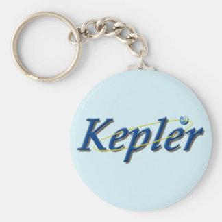 Kepler Space Observatory Basic Round Button Keychain
