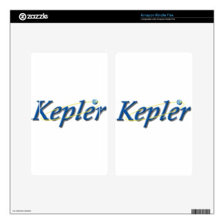 Kepler Space Observatory Kindle Fire Decal