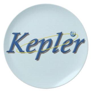 Kepler Space Observatory Melamine Plate