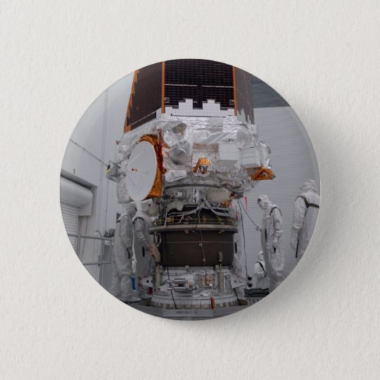 Kepler space telescope pinback button
