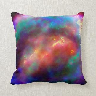Kepler's Supernova Remnant NASA Hubble Space Photo Throw Pillow