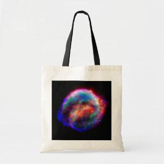 Kepler's Supernova Remnant NASA Hubble Space Photo Tote Bag
