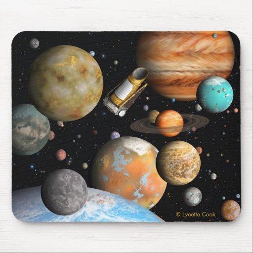 Kepler's Worlds Mousepads