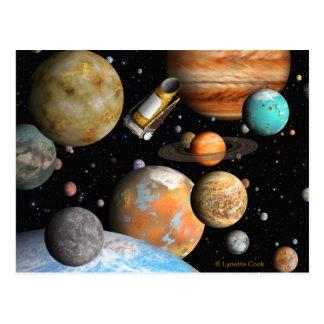 Kepler's Worlds Postcard