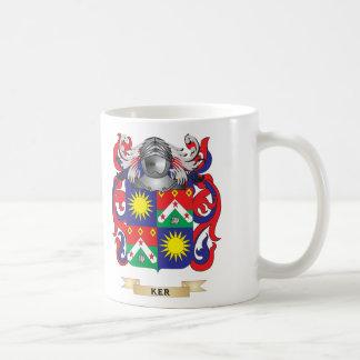 Ker-(Lothian) Coat of Arms (Family Crest) Classic White Coffee Mug