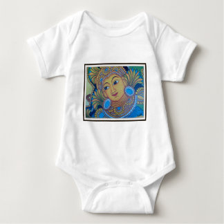 KERALA [INDIA] VINTAGE MURAL BABY BODYSUIT