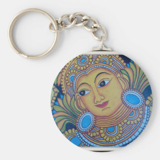 KERALA [INDIA] VINTAGE MURAL KEYCHAINS