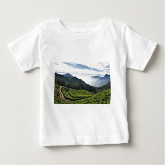 Kerala one side and Tamil Nadu in the background, Baby T-Shirt