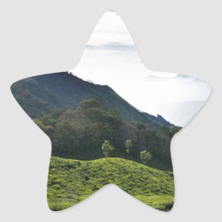 Kerala one side and Tamil Nadu in the background, Star Sticker