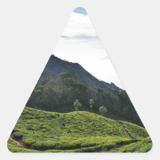 Kerala un lado y Tamil Nadu en el fondo, Pegatina Triangular