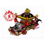 Portable shrine Portable shrine Car Classic Japan zangyoninja aokimono The Dog year kerberos nonull