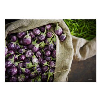 Kerelan Eggplant Poster
