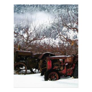 Keremeos Orchard in Winter Letterhead