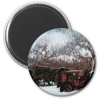 Keremeos Orchard in Winter Magnet