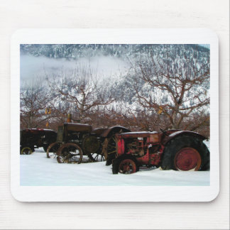 Keremeos Orchard in Winter Mouse Pad