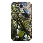 Kereru Plucking Leaf Samsung Galaxy S4 Cases
