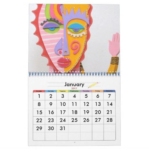 """""""KeRicTure"""" Calendar"""