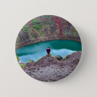 Kerid Crater, Iceland Button