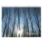 Kerkini lake wall calendar