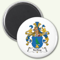 Kerling Family Crest Magnet