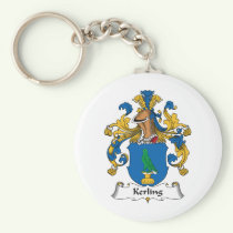 Kerling Family Crest Keychain