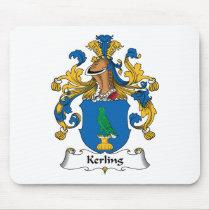 Kerling Family Crest Mousepad