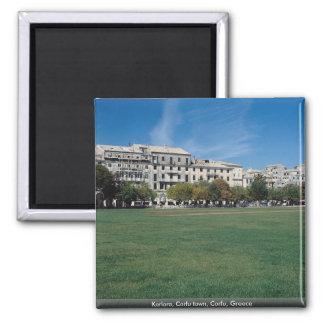 Kerlora, Corfu town, Corfu, Greece 2 Inch Square Magnet