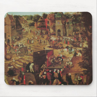Kermesse with Theatre and Procession Mouse Pad