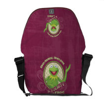 Kermit Always Green Courier Bags at Zazzle