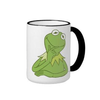 Kermit de los Muppets la rana Disney Taza De Dos Colores