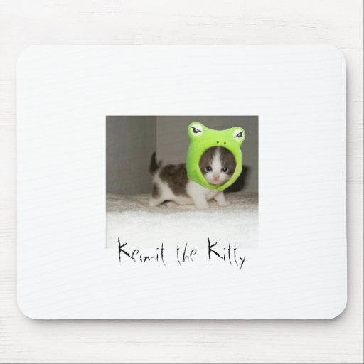 Kermit el gatito alfombrillas de ratones
