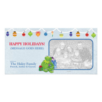 Kermit Holiday Photo Card