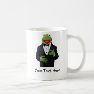 Kermit in a Suit Classic White Coffee Mug