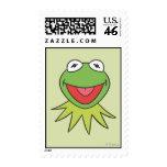Kermit la cabeza del dibujo animado de la rana