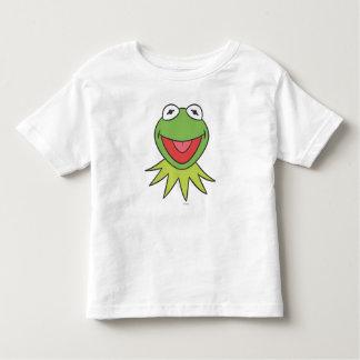 Kermit la cabeza del dibujo animado de la rana remeras