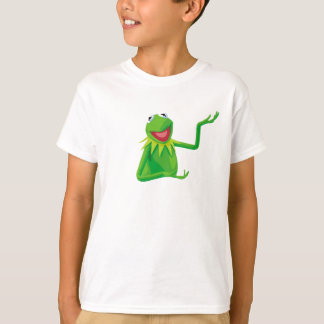 Kermit la rana con su boca Disney abierto Playera