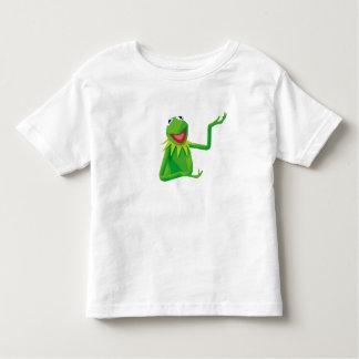 Kermit la rana con su boca Disney abierto Poleras